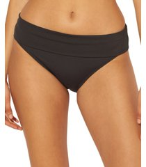 bleu by rod beattie foldover hipster bikini bottoms women's swimsuit