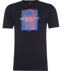 t-shirt masculina just xv maglietta - preto