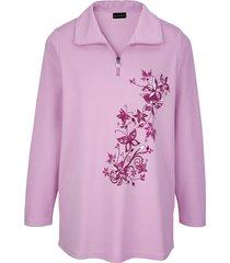 sweatshirt m. collection roze::multicolor