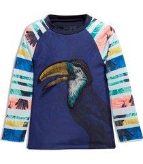 camiseta de playa azul offcorss
