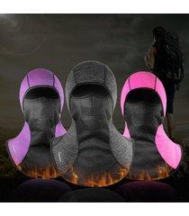uomo donna inverno velluto spesso face maschera cap outdoor escursionismo traspirante cappello caldo antivento
