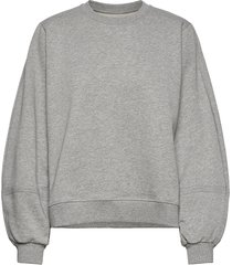 software isoli sweat-shirt trui grijs ganni