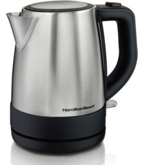 hamilton beach 1.0-l stainless steel electric kettle