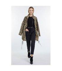 casaco de tricot cropped manga longa preto