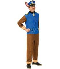 buyseasons men's paw patrol chase adult jumpsuit adult costume