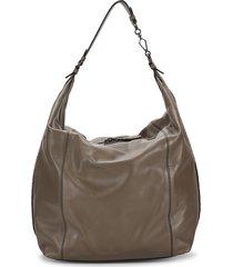 bottega veneta women's leather hobo bag - grey