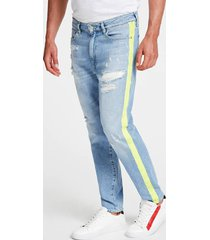 jeansy ze zwężaną nogawką fason slim
