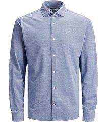 jack & jones 12183782 oxford overhemd cameo blue -