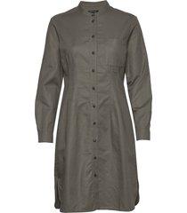 woven dresses knälång klänning grå marc o'polo
