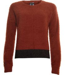 sweater lurex part bruin