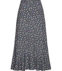 esmée skirt knälång kjol grå odd molly