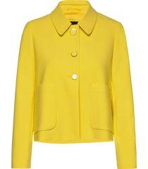 3596 - briani blazer colbert geel sand