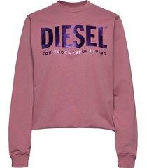 f-ang sweat-shirt sweat-shirt trui roze diesel women