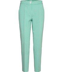 crop leisure trouser slimfit byxor stuprörsbyxor grön gerry weber