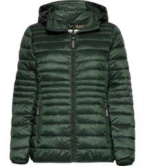 jackets outdoor woven gevoerde lange jas groen esprit casual