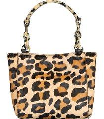 leopard micro tote