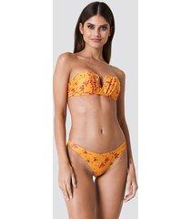 na-kd swimwear bikini panty - orange