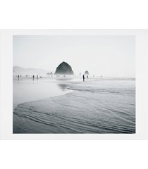 deny designs cannon beach art print, size one size - grey
