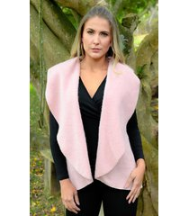 chaleco outfit 3102 para mujer palo de rosa