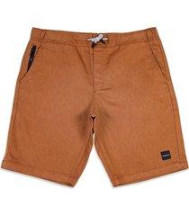 bermuda bark commmuter shorts oakley marrom