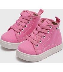 botín rosado molekinha
