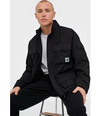 carhartt wip elmwood jacket jackor black