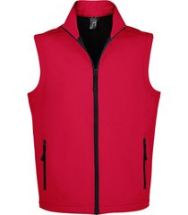 vest sols race bw men modern