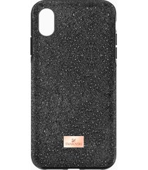 custodia smartphone con bordi protettivi high, iphoneâ® xr, nero