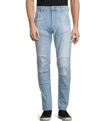 g-star raw men's 5620 3d slim jeans - sun faded wash - size 29 32
