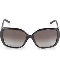58mm square sunglasses