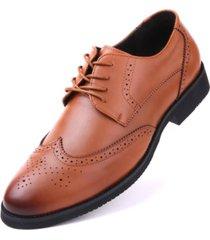 men's speckled wingtip dress shoes men's shoes