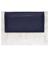 leather wallet, 'marvelous midnight' (india)