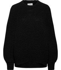 milffa knit o-neck gebreide trui zwart second female
