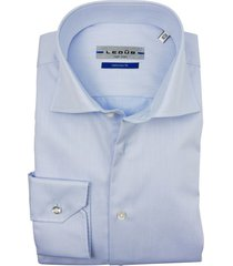 ledub mouwlengte 7 overhemd tailored fit bleu