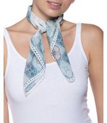 inc chiffon peony tile scarf, created for macy's