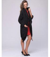 kardigan płaszczowy cozy look