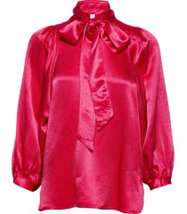 moonlight ls blouse blouse lange mouwen roze second female