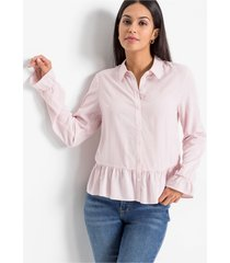 blouse met peplum