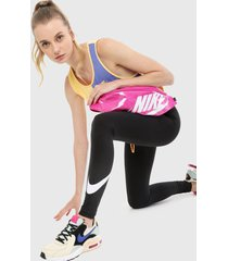 leggings negro-blanco nike sportswear club