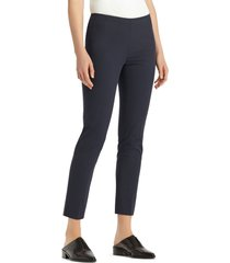 women's lafayette 148 new york 'stanton' slim leg ankle pants, size 18 - blue