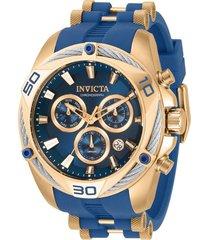 reloj bolt invicta modelo 31318 multicolor