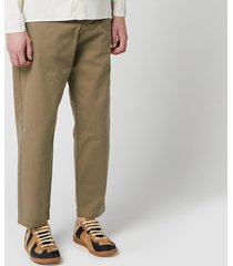 oliver spencer men's judo pants - tobacco - l