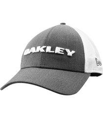 boné oakley aba curva heather masculino