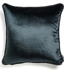 czarna poduszka dekoracyjna glamour 45x45
