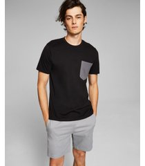and now this men's contrast pocket t-shirt