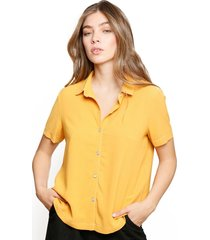 blusa lore amarillo eclipse