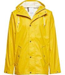 sixten rainjacket jacka gul tretorn