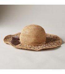 honeycomb sun hat