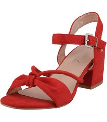 sandalia jeronima rojo weide