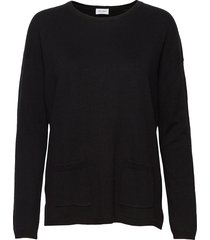 pullover long-sleeve stickad tröja svart gerry weber